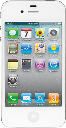 Смартфон Apple iPhone 4S 32Gb White - Кемерово